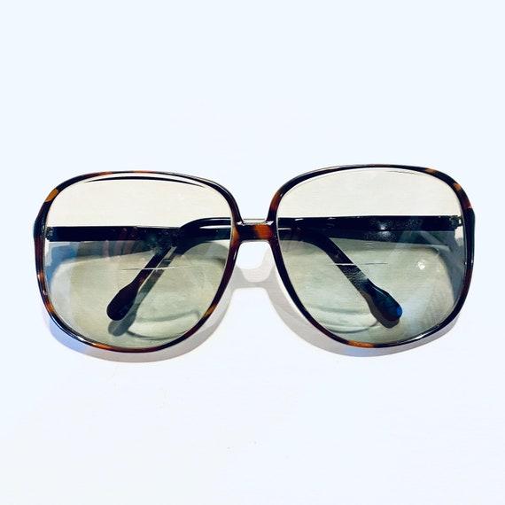 Vintage 80s Anne Klein Oversized Square Eyeglasses