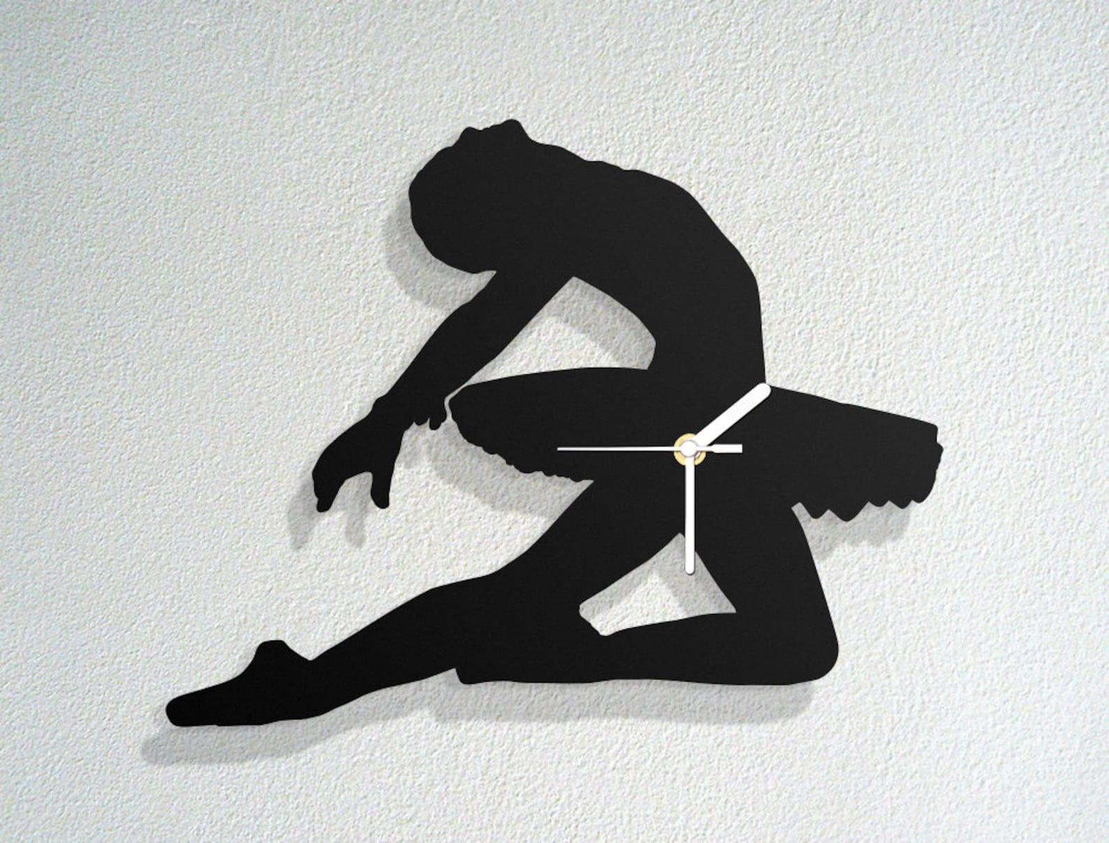 ballerina - ballet dancer talent passion - arabesque pirouette - swan lake pointe shoes - modern novelty gift - custom acrylic w