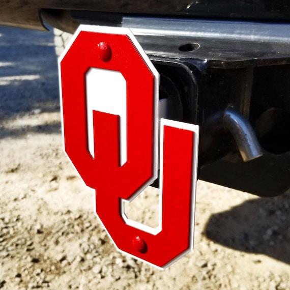 NCAA Oklahoma Sooners Car Trailer Hitch Cover
