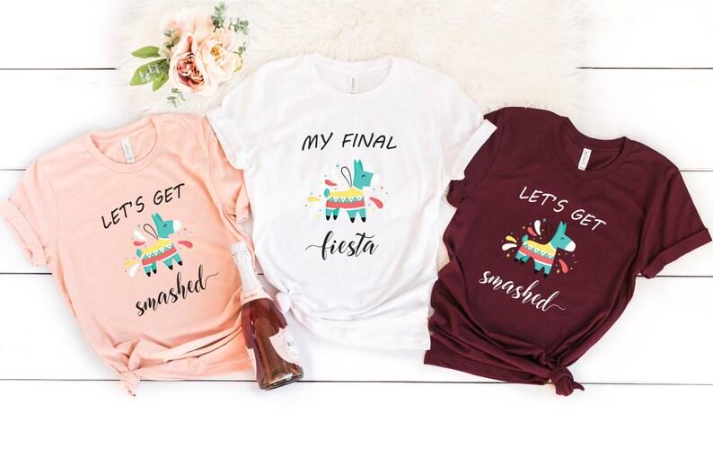 72f3bbe8095b Fiesta Bachelorette Fiesta Shirt Bachelorette Party Shirts | Etsy