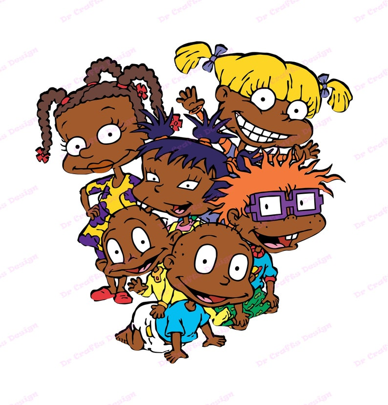 Download African American Rugrats SVG svg dxf Cricut Silhouette Cut ...
