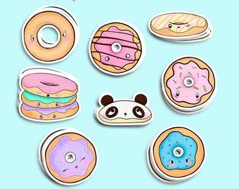 Donut lover sticker | Etsy