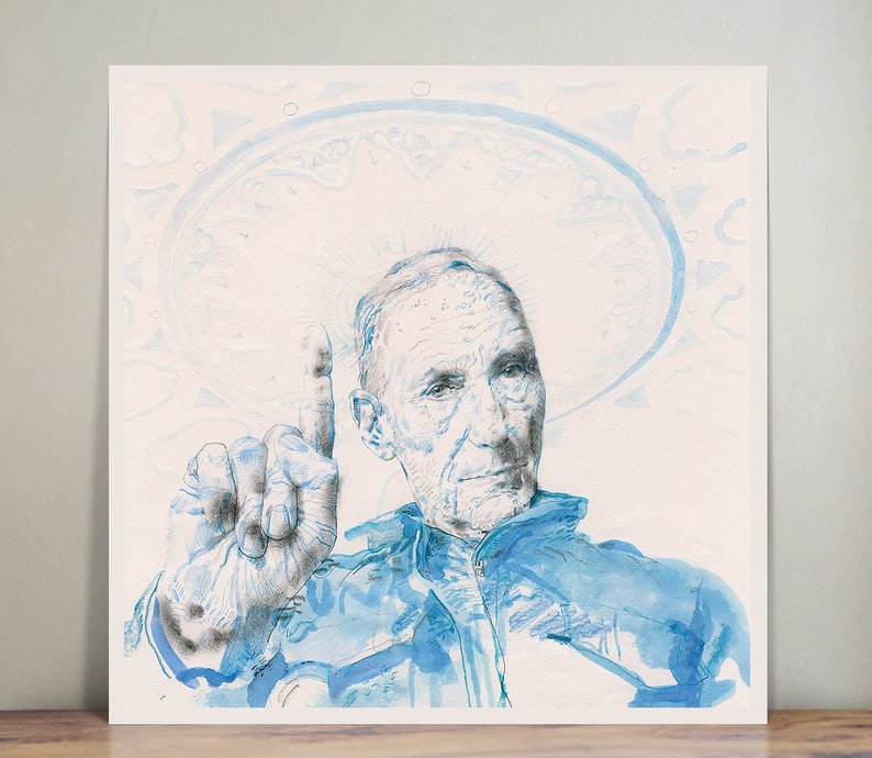 William Burroughs  Naked Lunch  wall art  art print  image 0