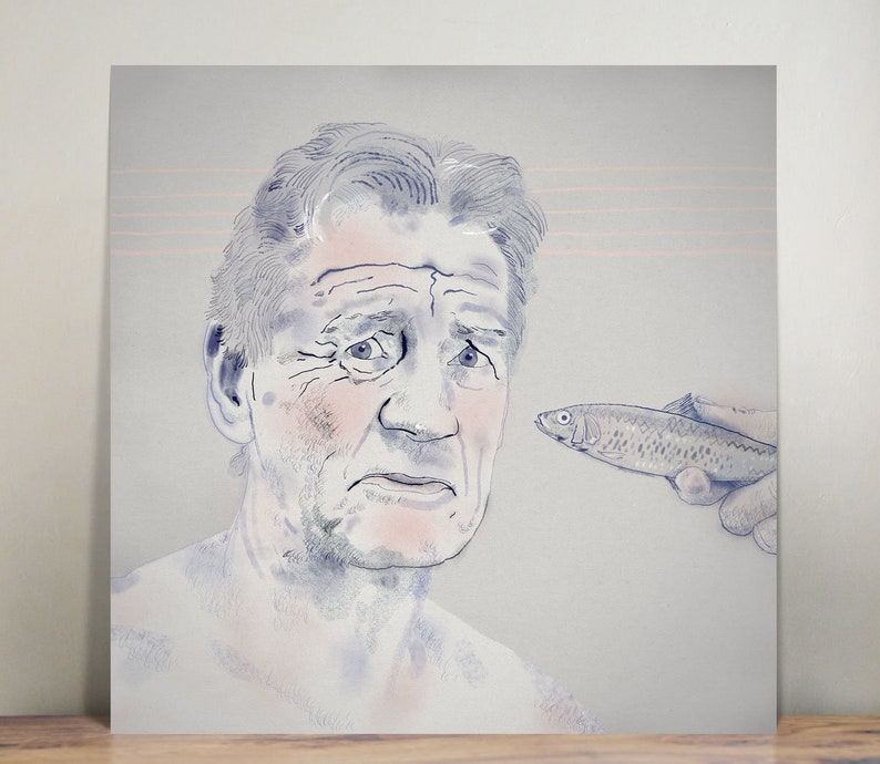 Michael Palin  Monty Python  wall art  art print  painting image 0