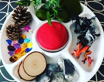 Knights and Dragons Medieval  Themed Montessori | Loose Parts | Open Ended Play