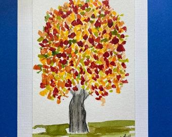 2021 Autumn Glory - Original Art Notecards (sets of 4), stationery