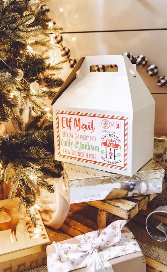 Elf Arrival Box  Elf Props  Christmas Elf activities