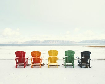 Colors On The Beach. Fine Art Photograph