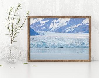 Glacial Frost - Hubbard Glacier - Alaska Photography - Fine Art Photography - National Parks Photography - Photographic Print