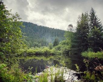 Lone Basin - Alaska Photography - Fine Art Photography - National Parks Photography - Photographic Print