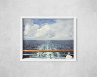 Open Seas - Alaskan Cruise - Alaska Photography - Fine Art Photography - Photographic Print