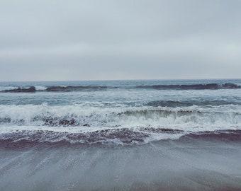SoCal Winter - California Zuma Beach - Ocean Waves - Nature Photography - Digital File Download