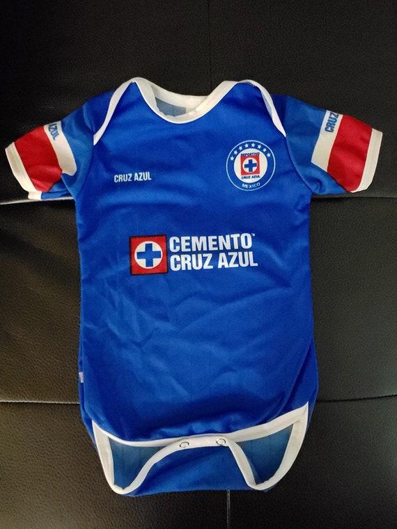 0d6e20a51 2019 CRUZ AZUL customized baby onesie bodysuit