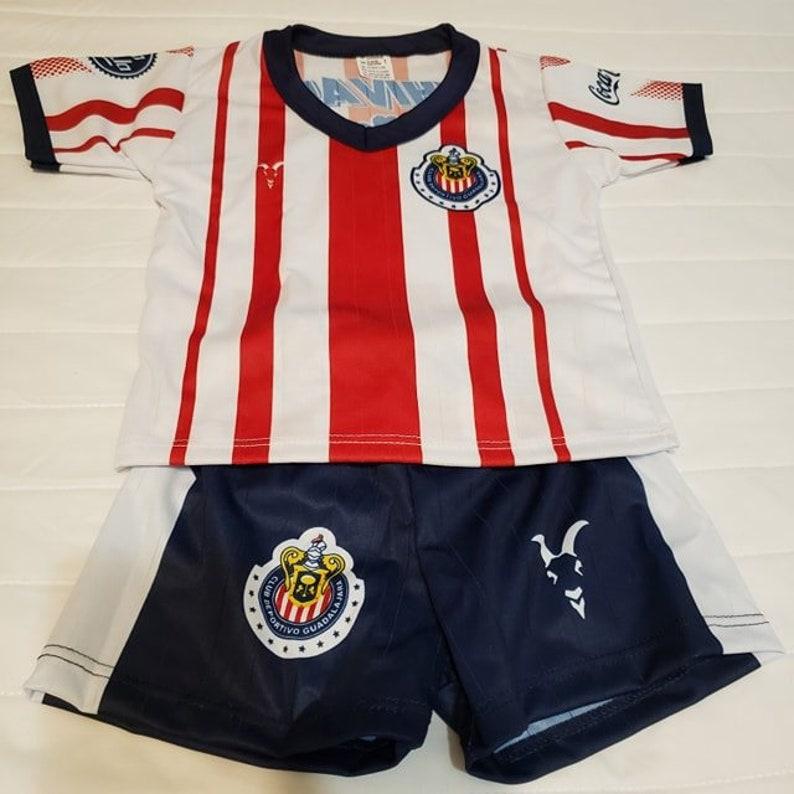 size 40 ce7de af7e7 2019 Chivas de Guadalajara customized baby jersey and shorts