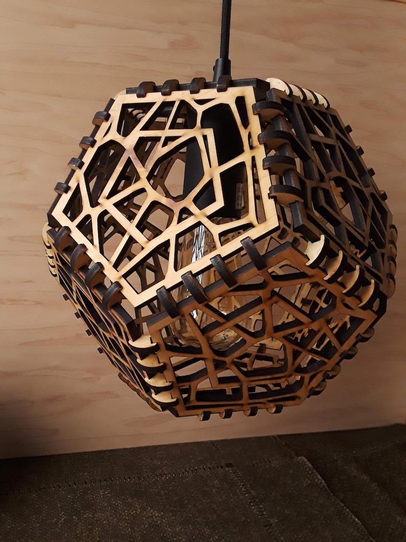 Voronoi Hanging Pendant Light image 0