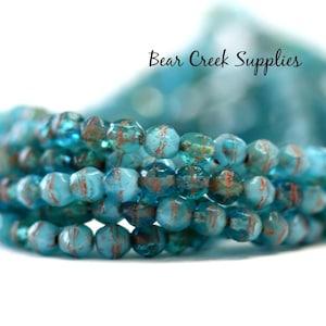 2058 Celsian Czech Fire Polished Glass Beads Transparent 6mm 25 pcs Golden Crystal