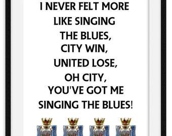 Football lyrics | Etsy