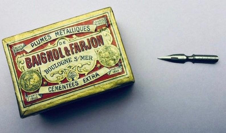 3 Baignol /& Farjon 571EF Vintage NOS Nibs