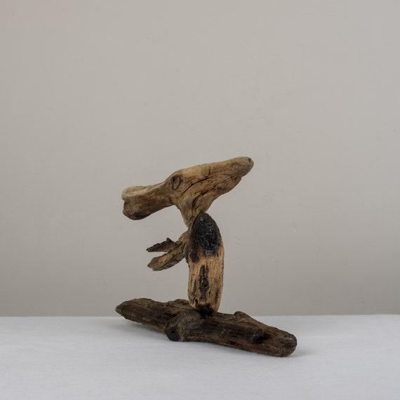Pteranodon Dinosaur Driftwood Sculpture Ornament Unique Etsy