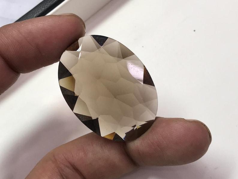 100/%Natural  hydro Smokey colour sapphire shape oval gemstones