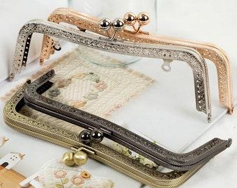 frame for purse 20cm(7.9 in) Purse frames Bag frame metal frame coin purse diy frame purse making