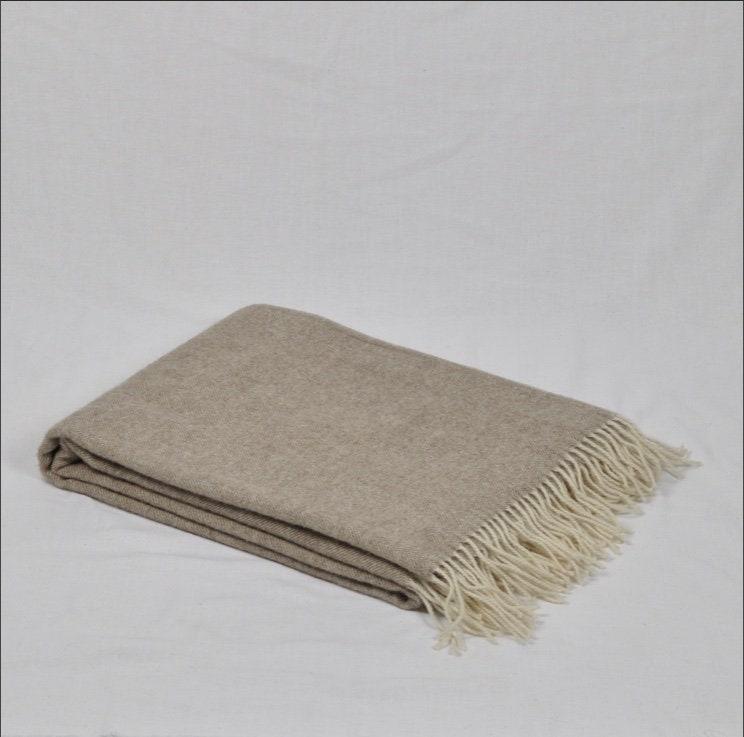 Merino Wool Blankets 140 x 200 cm / 55 x 79 In, Organic Wool Throw, Plaid Home Decor, Lamb Wool Blanket, Soft, EXTRA QUALITY Wool, ECO
