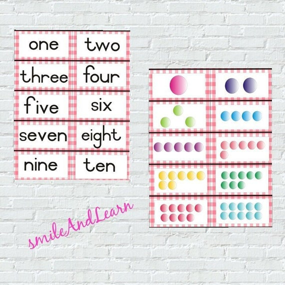 photograph regarding Printable Number Cards 1 10 titled Printable Variety Flashcards 1-10, Instruction Quantities, Kindergarten Recreation, Math and Counting Playing cards