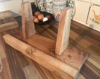 Artisan, British Oak, Recipe Book Stand