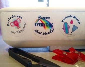 Period Poverty Awareness Stickers!!