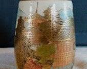 Miniature Satsuma vase 1868-1912