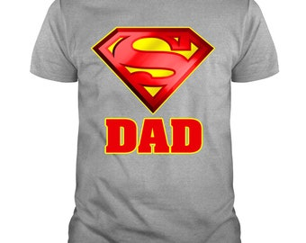 0472609c Father's Day 2019 T Shirt, Superman Best Dad Ever T Shirt, Papa T Shirt