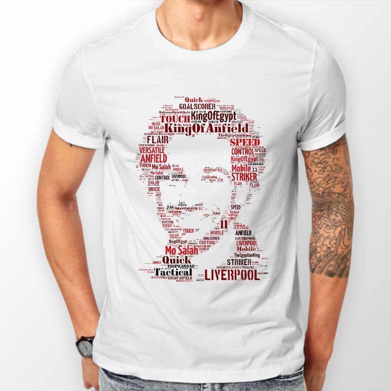 Mo Salah Liverpool T Shirts & Hoodies Mensunisex Ynwa Anfield Football Champions Of Europe Egyptian King Unisex Tshirt