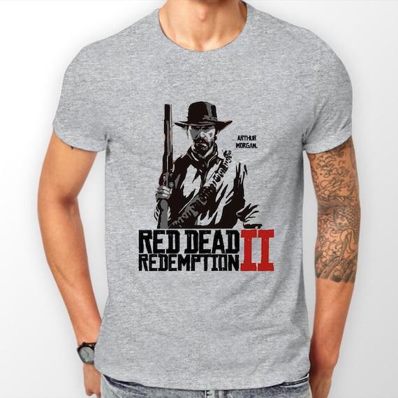 bb1d244fc60 T-Shirt or Hoodie Unisex Red Dead Redemption 2 Arthur