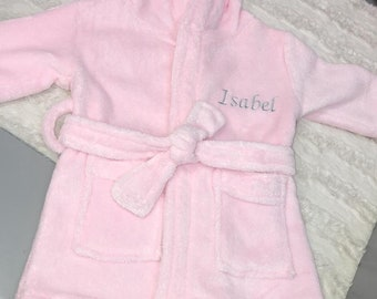 Personalised Cotton Baby Bath Gown   Baby Bath Robe   Child Bath Robe 8f8f7e200