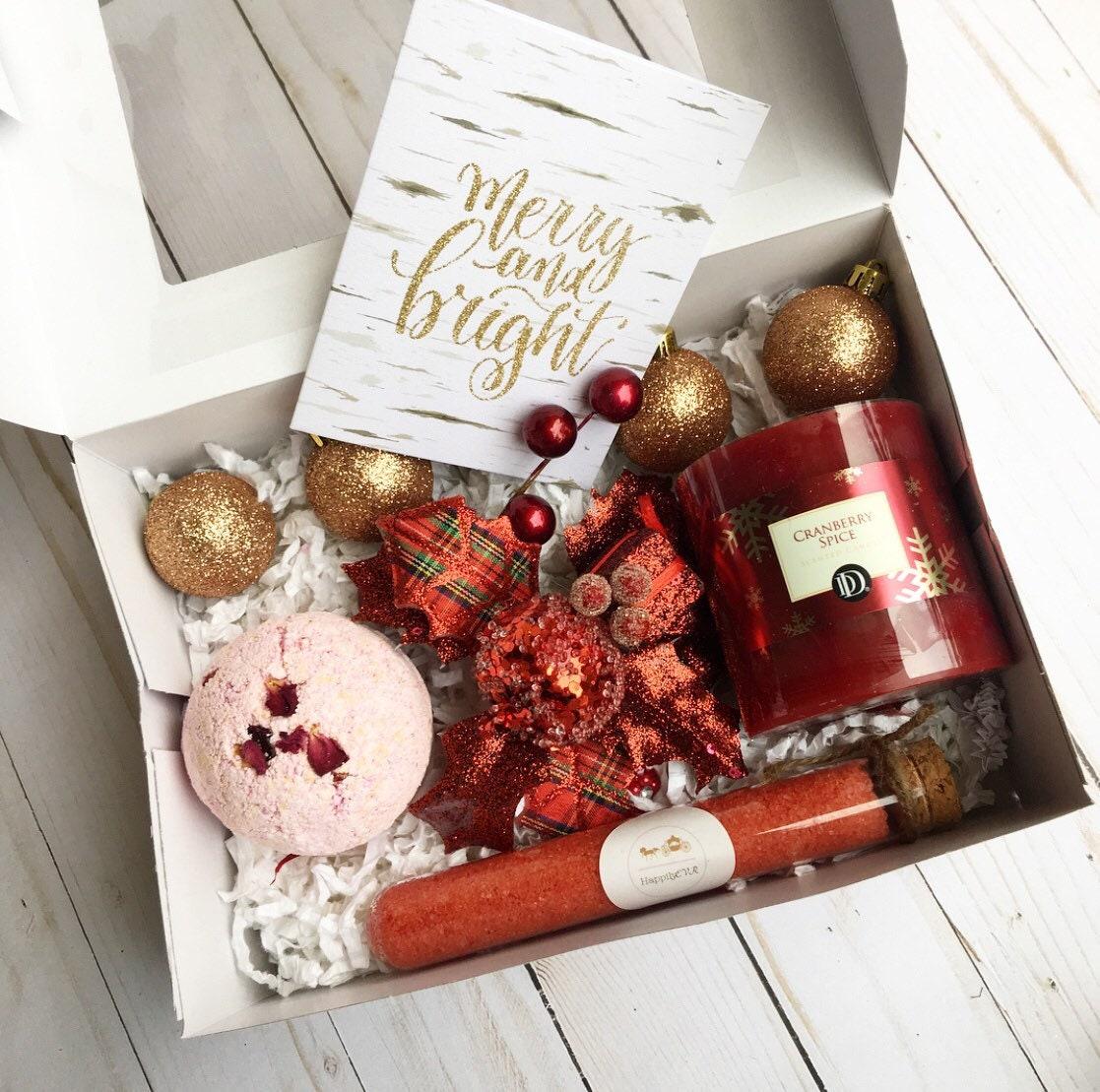 Christmas gift setcoworker giftXmas spa setthank you gift   Etsy