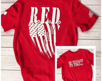 69abfb58 RED Friday Shirt, R.E.D. Friday Shirt, Remember Everyone Deployed Shirt,  American Flag, RED Friday Shirt, R.E.D. Friday Shirt, RED Friday, R