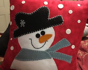 Frosty The Snowman Pillow