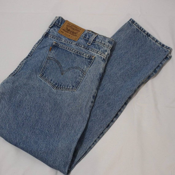 505 Levi's Orange Tab Jeans