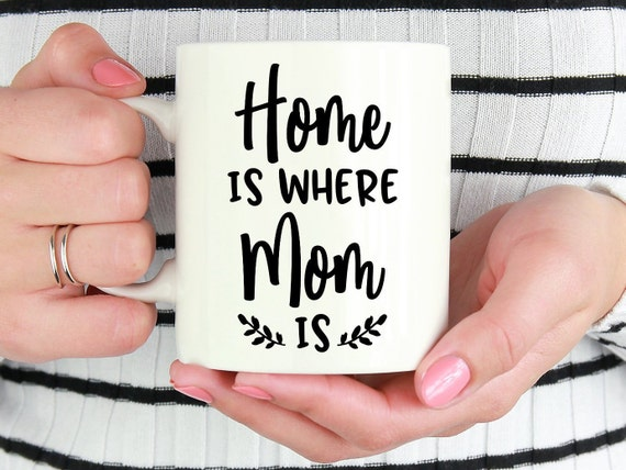 Cute Christmas Gift Ideas For Mom.Home Is Where Mom Is Christmas Gift For Mom Cute Gift Idea For Mom S Birthday Gift From Daughter Present From Son Leaving For College S1017