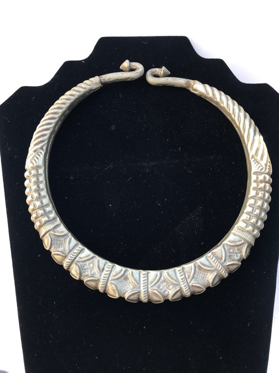 Incredible Antique African Choker M2