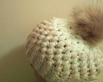 Gorro de lana bebès primera puesta c854c08d7a2