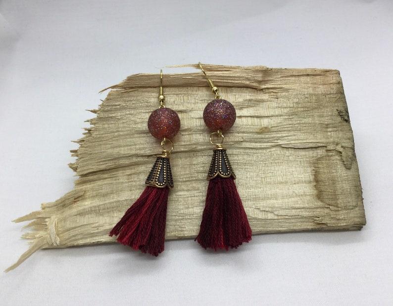 Moonbeam Tassel Earrings