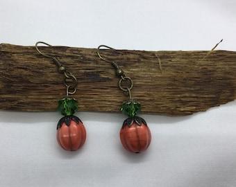Pumpkin Spice Earrings