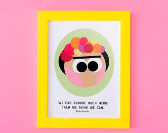 Frida Kahlo   Instant Download   Quote   Print