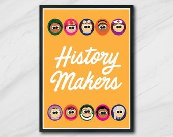 Women History Makers   Poster   Instant Download   Quote   Print