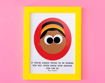 Maya Angelou   Instant Download   Quote   Print