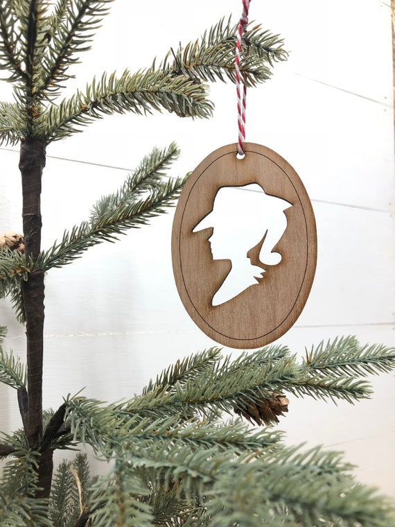 Cowgirl Silhouette Ornament Western Christmas Ornaments Etsy
