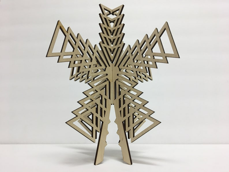 Christmas Tree Topper Geometrical Shapes image 2