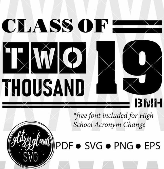 Class Of 2019 Senior Svg Grad Svg Grad 2019 Svg Graduation Etsy