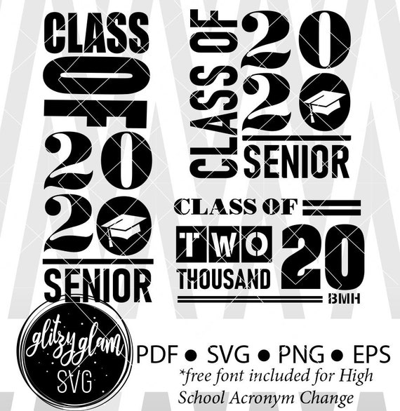2020 Grad Class Of 2020 Senior Svg Grad Svg Grad 2020 Svg Etsy